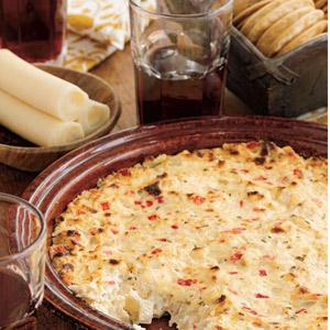 Creamy Baked Hearts of Palm Dip