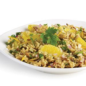 Winter Orange & Wild Rice Salad