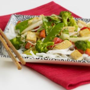 Bok Choy & Vegetable Stir-Fry