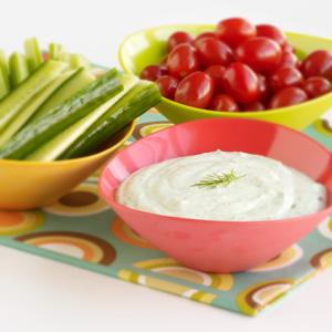 Home, Home on the Ranch! Veggie Dip
