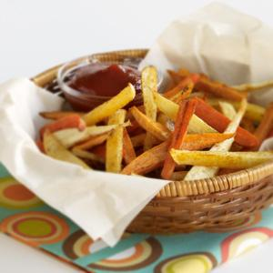 "Roasted Root ""Fries"""