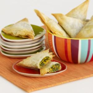 Sweet Potato & Spinach Pockets