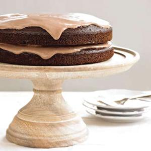 Chocolate Cloud Layer Cake