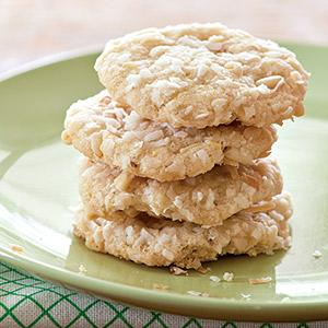Coconut Pine Nut Cookies