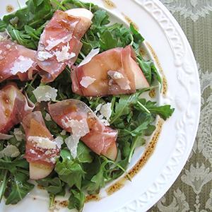 Prosciutto-White Nectarine Salad