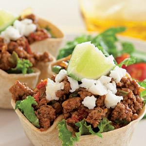 Turkey Taco Salads