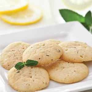 Summer Minted Lemon Wafers