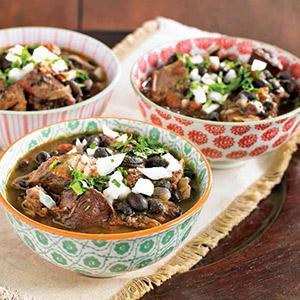 Cuban Pork and Black Bean Stew