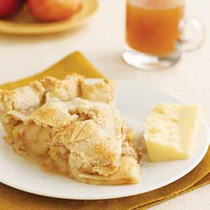 Vermont Apple Pie with Cheddar Cheese