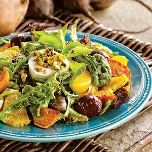 Roots and Fruits Salad