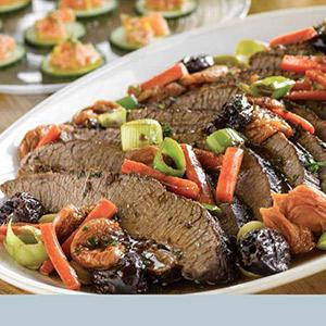 Sweet and Savory Beef Brisket
