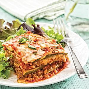 Zucchini Quinoa Lasagna