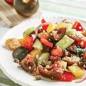 Kumato Panzanella Salad