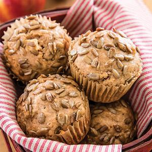 Sunny Double Apple Muffins