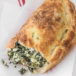 Spinach And Four Cheese Calzones