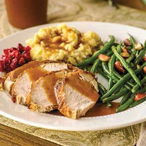 Maple Glazed Turkey