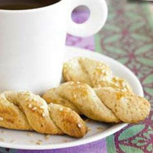 Sesame Cookie Twists