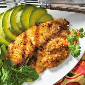 Grilled Tilapia with Sofrito