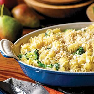 Four Cheese Macaroni and Cheese with Broccoli
