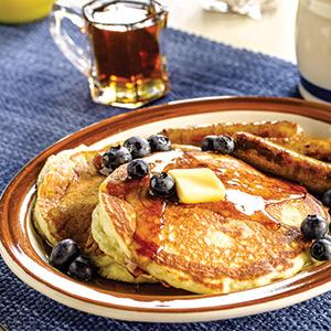 Homemade Diner-Style Pancakes