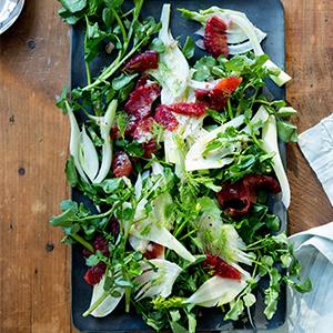 Watercress, Blood Orange, and Fennel Salad