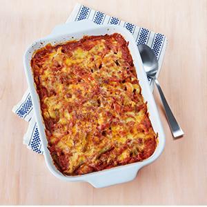 One-Dish Tortellini Bake