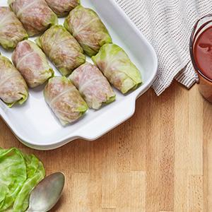 Stuffed Cabbage Rolls (Golumpki)