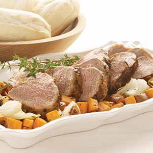 One-Pan Pork Tenderloin and Potatoes
