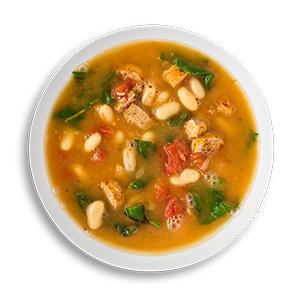Quick Sausage and White Bean Soup