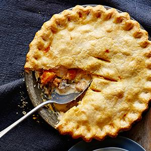 Chicken and Butternut Squash Potpie