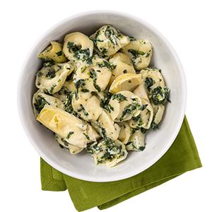 Spinach and Artichoke Tortellini
