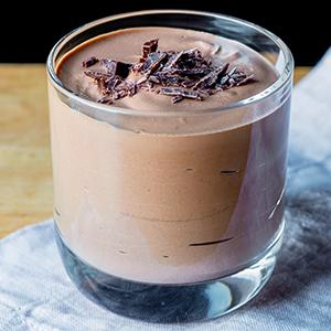 Silky Tofu Chocolate Mousse