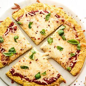 Classic Cheese Pizza with Cauliflower Crust
