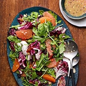 Citrus, Arugula, and Radicchio Salad