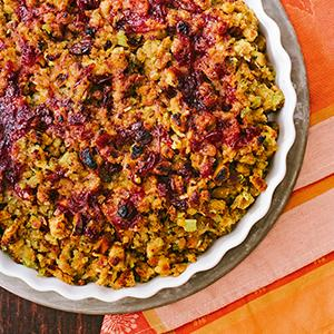 Cranberry-Ginger Stuffing