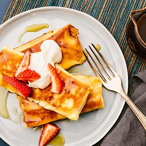 Classic Cheese Blintzes
