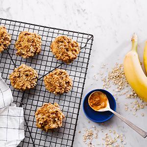3-Ingredient Breakfast Cookies