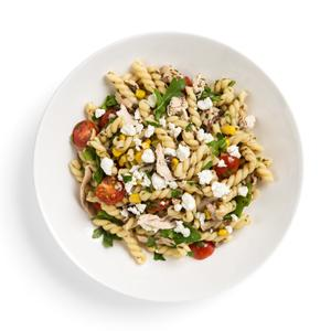 Springtime Pasta with Olive Tapenade