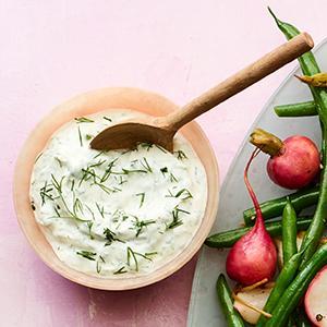 Herbed Yogurt Sauce