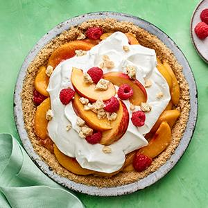 Lighter Peach Pie