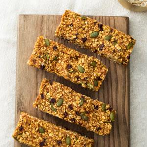 Pumpkin-Chocolate Chip Oat Bars