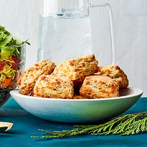 Cheddar-Chive Biscuits