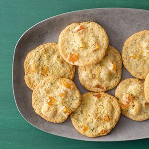 Cornmeal Cookies with Apricot and Sage