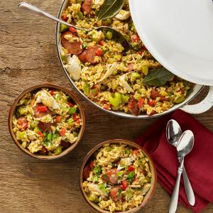 Ric Orlando's Creole Chicken and Sausage Jambalaya