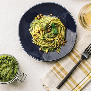 Broccoli-Pistachio Pesto