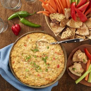 Cauliflower & White Bean Buffalo Dip