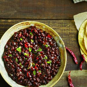 Spicy Black Beans