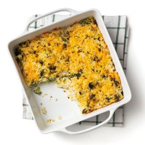 Broccoli and Cheddar Casserole