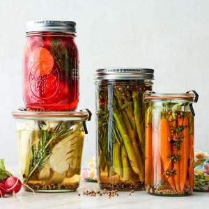 Quick-Pickled Spring Vegetables