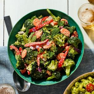 Sesame-Ginger Broccoli Salad